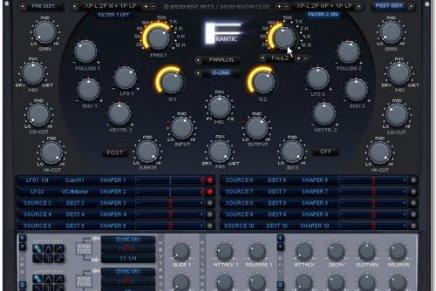 Basement Arts announces Frantic Filter VST plug-in