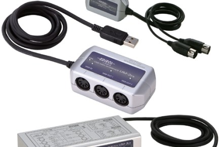 Edirol announces USB MIDI interface line updates