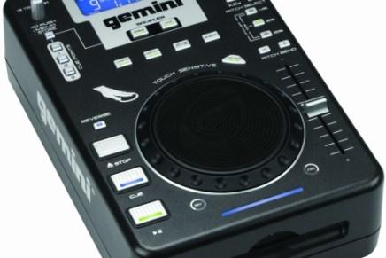 Gemini announces new slot loading CD player