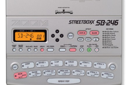 ZOOM releases the SB-246 Hip-Hop Machine