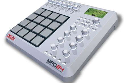 Akai professional announces MPD24 USB/MIDI pad control unit