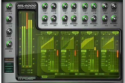 McDSP announces ML4000 Mastering Limiter