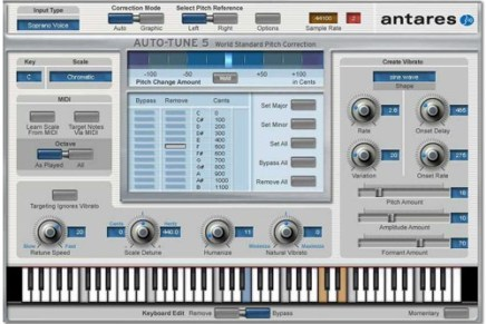 Antares announced Auto-Tune 5