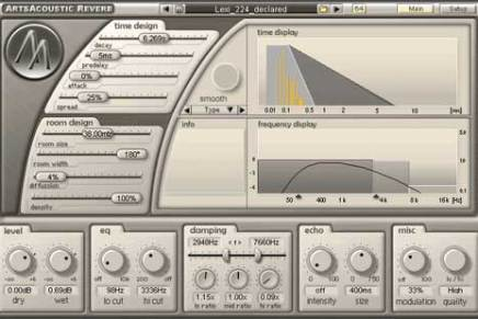 ArtsAcoustic Reverb updated to version 1.2.0