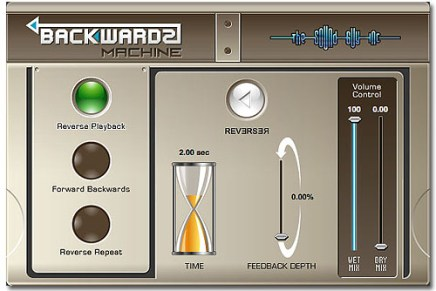 The Sound Guy releases BackWards Machine