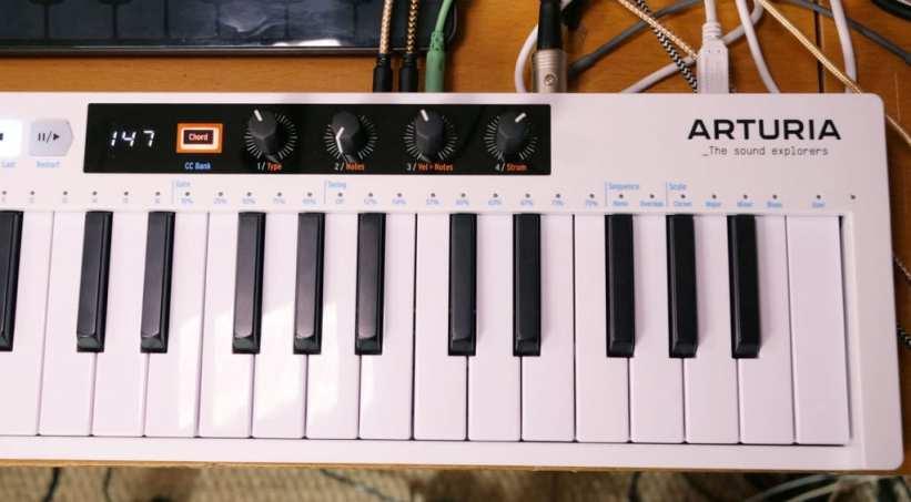 Arturia KeyStep 37 Chord controls