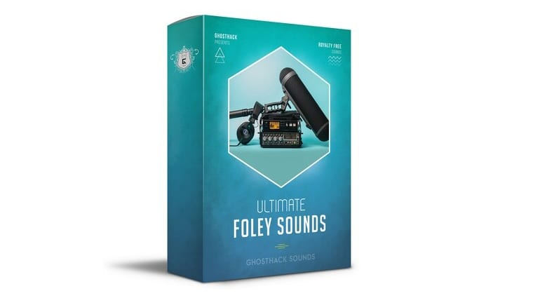ghosthack ultimate foley sounds sample pack artwork