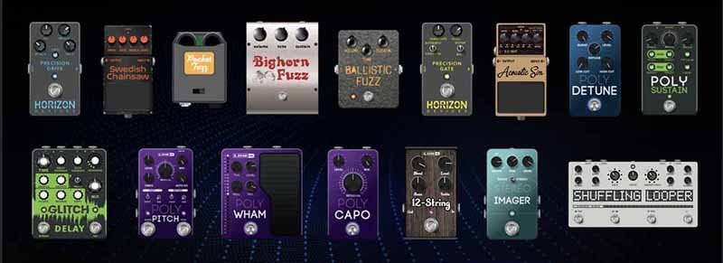 New Line 6 Helix 3.00 effects