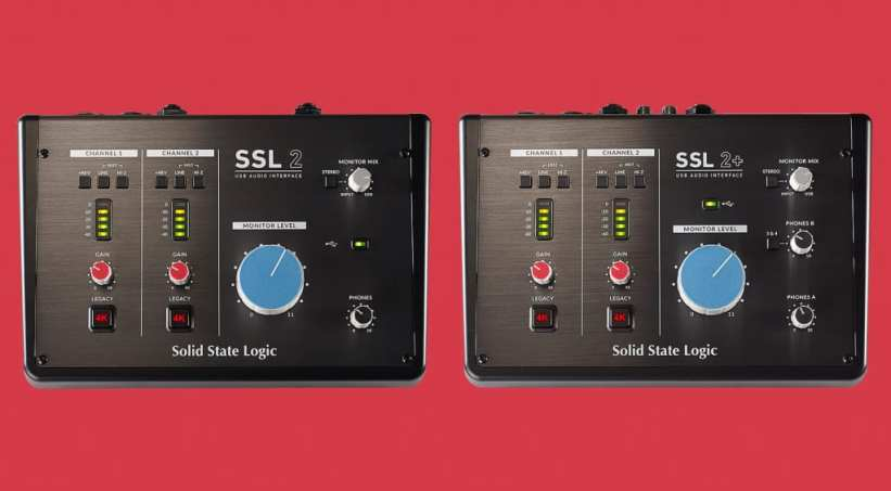 SSL 2 and SSL 2+ audio interfaces