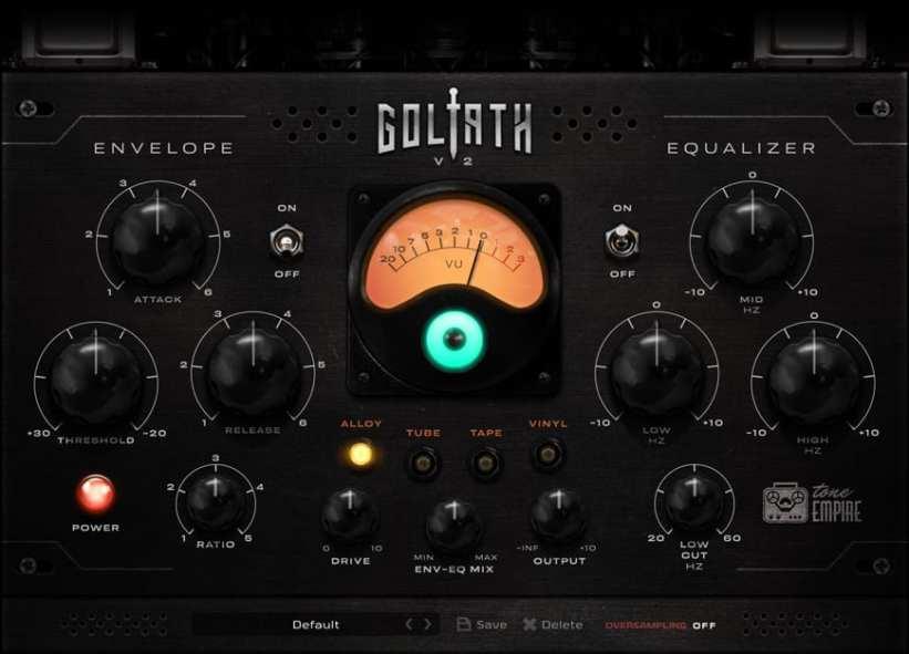 Tone Empire Goliath V2 GUI