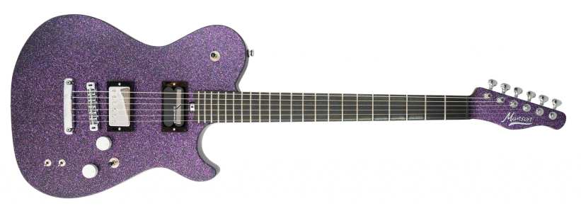 Manson Guitars MA 10th Anniversary Editions in Purple Nebula