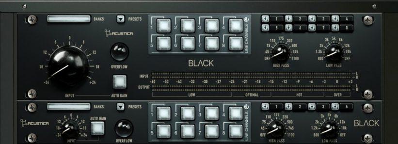Acustica Audio Black