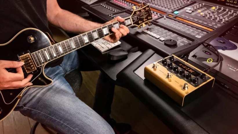Amplitube X-Gear in the studio