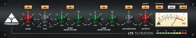 Trident LST Tiltration plug-in GUI