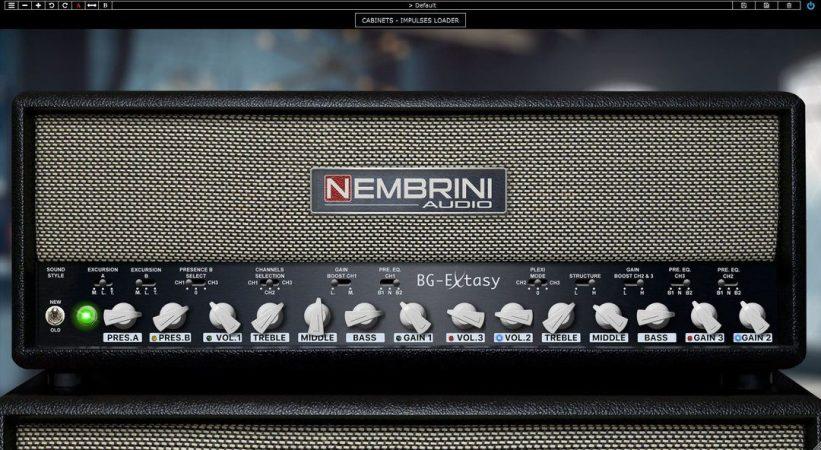 Nembrini Audio BG Extasy