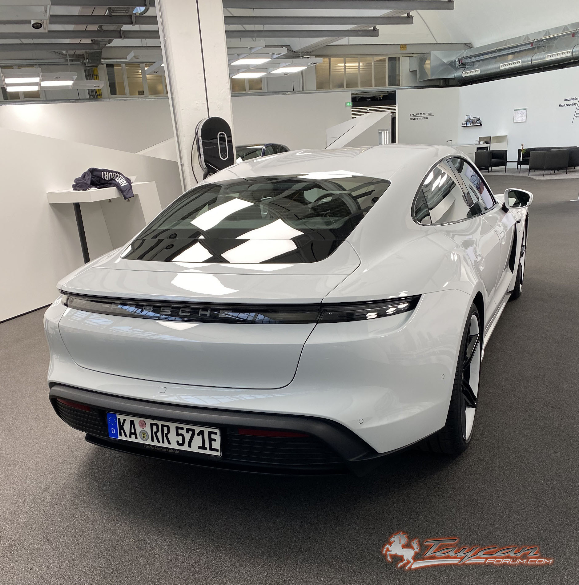 First Porsche Taycan 4S Delivery Confirmed 3