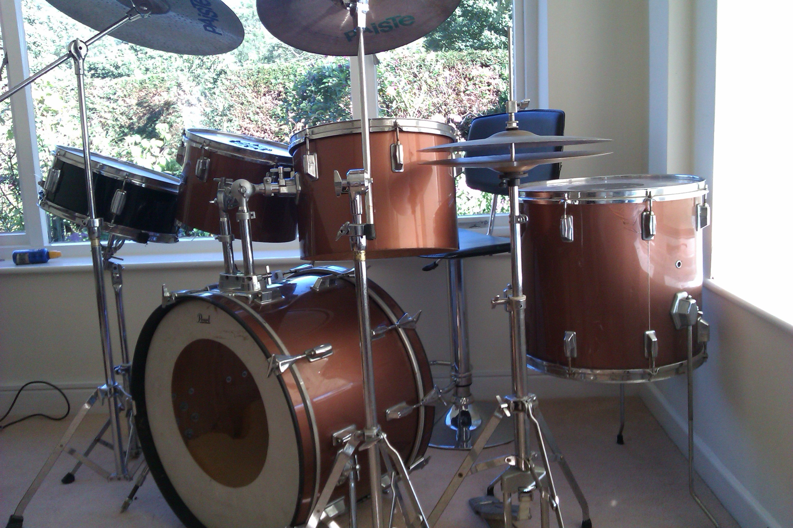 HELP me identify my old Pearl drum kit  Please    Gearslutz Pro     HELP me identify my old Pearl drum kit  Please