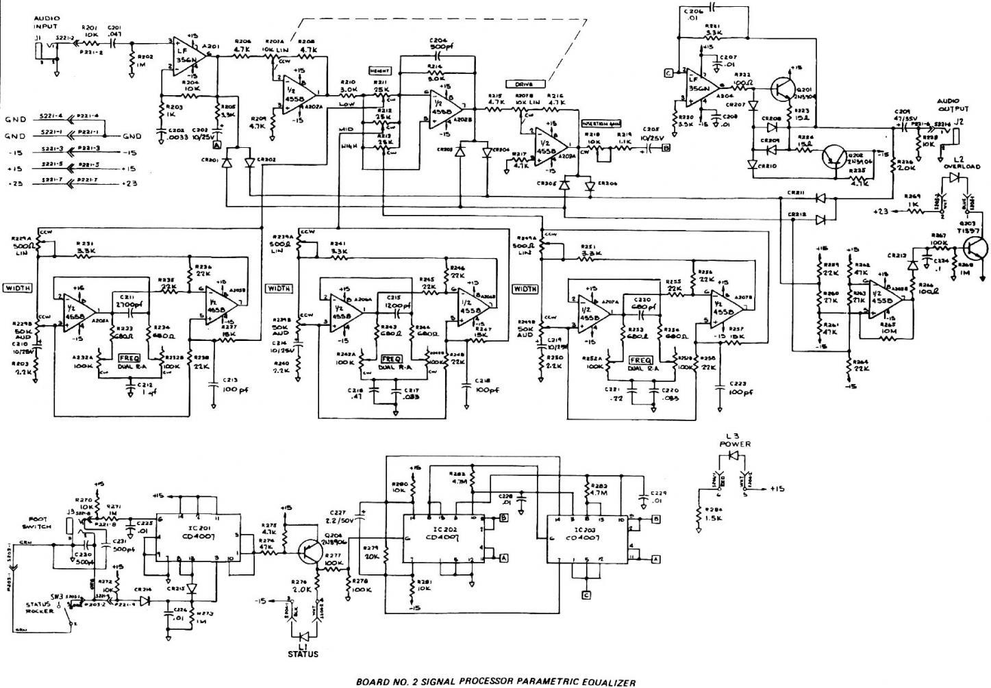 Moog Parametric Eq Help