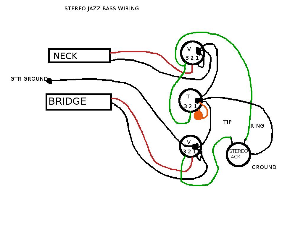 Jazz Bass Bass Guitar Wiring Diagram Wiring Diagram