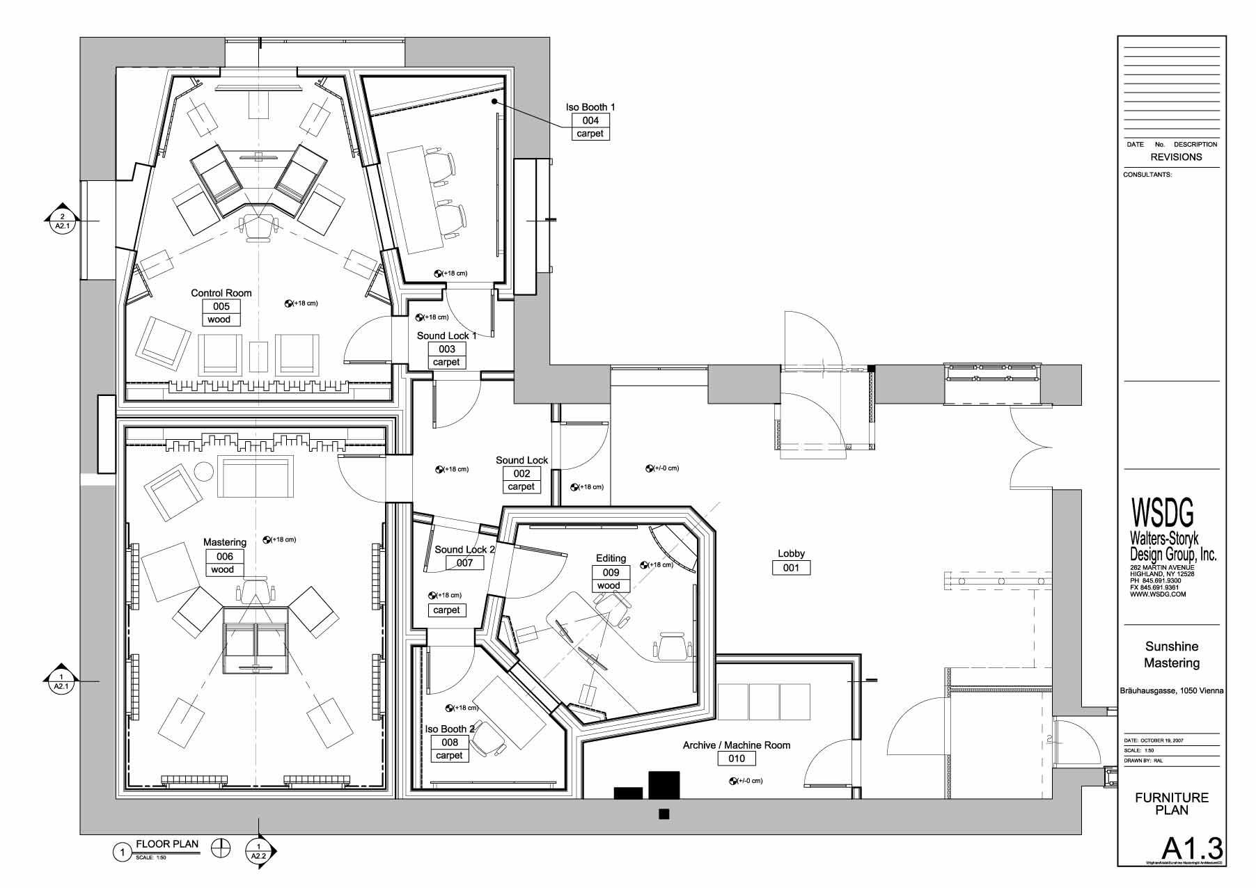 recording studio furniture plans