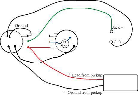 wiring diagram one humbucker one volume one tone wiring wiring diagram one humbucker one volume wiring on wiring diagram one humbucker one volume
