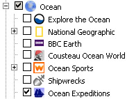 Ocean Expeditions Layer in Google Earth