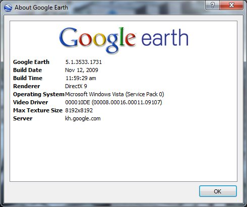 Google Earth 5.1