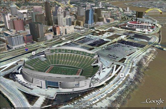 Cincinnati in 3D