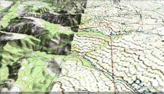 Seamless Topographic USGS maps - Google Earth Blog