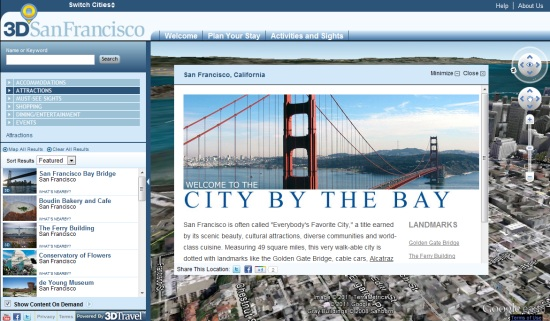 3D San Francisco
