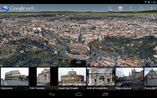 Google Earth on Android