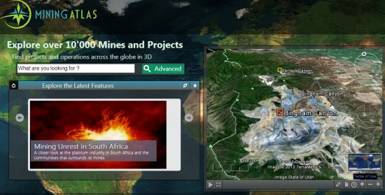 Explore over 10,000 mines with Mining Atlas - Google Earth Blog