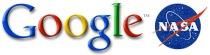 Google NASA logos