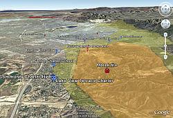 LA Fires in Google Earth