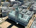 Hamburg 3D buildings in Google Earth