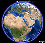 Blue Marble time animation in Google Earth