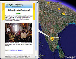 Geography Awareness Week - Quiz - in Google Earth