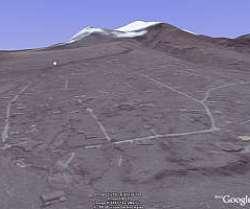 Montserrat in Google Earth