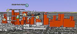 Atlantic Yards in Google Earth