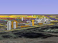 Buenos Aires in 3D in Google Earth