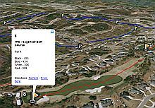 GolfNation courses in Google Earth