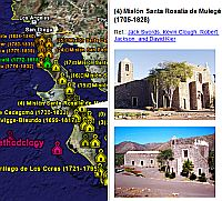 Missions of Baja California in Google Earth