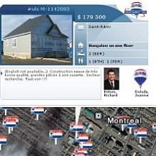 Re/Max Quebec Real Estate in Google Earth