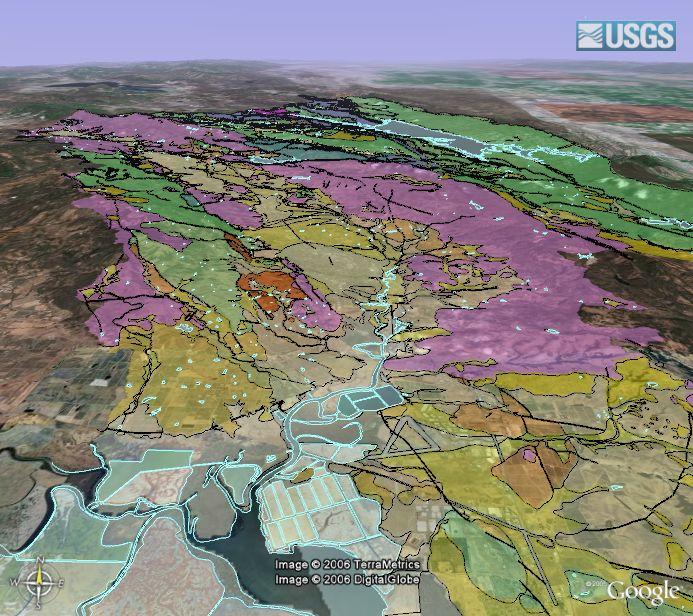 Geologic Maps in Google Earth