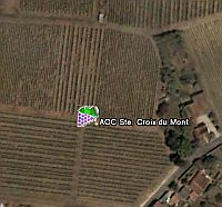 World of Wine in Google Earth
