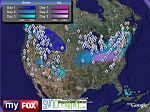 Fox TV weather in Google Earth