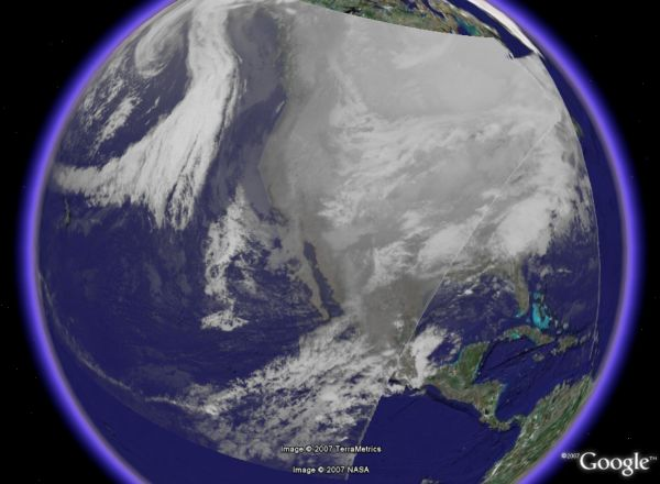 Recent Weather Satellite Animations in Google Earth - Google