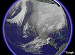 Weather satellite animations from NOAA GOES in Google Earth