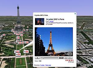 YouTube layer in Google Earth
