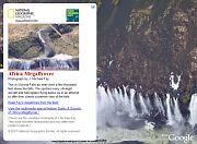 Victoria Falls in Google Earth
